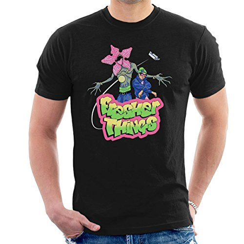 Fresher Things Fresh Prince Men's T-Shirt, black or sapphire