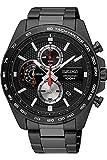 Seiko Herren Chronograph Quarz Uhr mit Edelstahl Armband SSB283P1