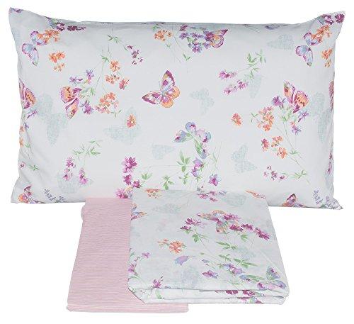 Zucchi Bettwäsche Doppelbett New Garden Pink