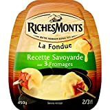 RICHEMONTS recette Savoyarde aux 3 fromages - 3 Savoie Cheese Fondue Fromagere - 450G