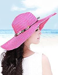 Beach Sun Hat Ladies Beach Sun Hat Sunscreen Anti-UV Sun Hat Big Brim Hat Travel Out The Hat Soft and comfort