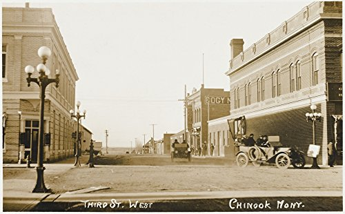 mary-evans-grenville-collins-postcard-collection-chinook-montana-third-street-west-kunstdruck-6096-x