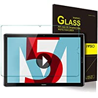 ELTD Huawei MediaPad M5 10.8 Protector de Pantalla, 9H Dureza 2.5D Round Edge Vidrio Templado Protector de Pantalla para Huawei MediaPad M5 10.8 Pulgadas, 1 Pack
