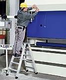 ZARGES LM-Stufen-Stehleiter 2 x 4 Stufen Z500