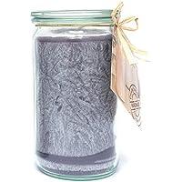 Candle Factory candela profumata, 15x 7x 15cm, colore: argento