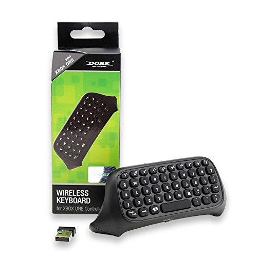 Althemax® Wireless Chatpad teclado controlador del teclado para XBOX Un controlador Messenger – Negro 51FvMNL9IvL