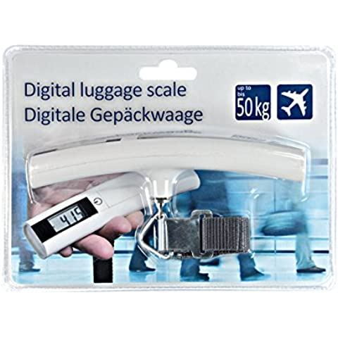 Precisa bilancia pesa bagagli–valigetta–Trolley bilancia–bilancia per bagagli–10pezzi–elettronico