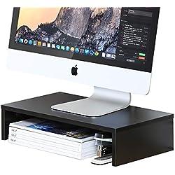 FITUEYES Moniteur Stand Support pour Réhausseur Ecran PC iMac Ordinateur Portable en Bois DT104201WB