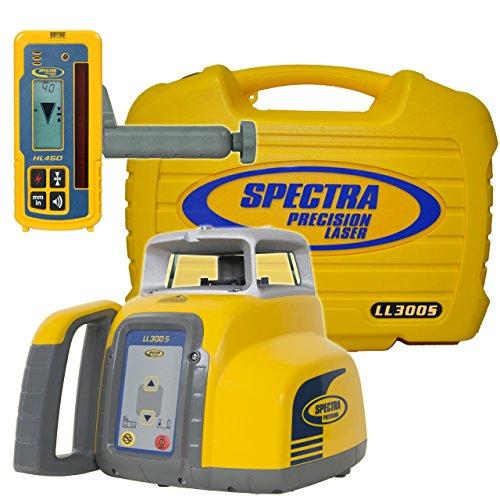 Spectra Precision ll300s-4LL300S livella laser con HL450–giallo