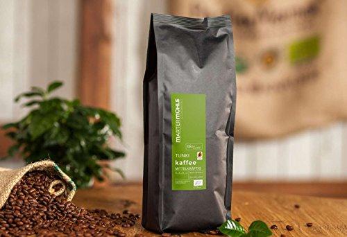 BIO Kaffee Peru Tunki - Bio Kaffeebohnen von der Kaffeerösterei Martermühle: Ganze Bohnen - Schonend geröstet & Säurearm.