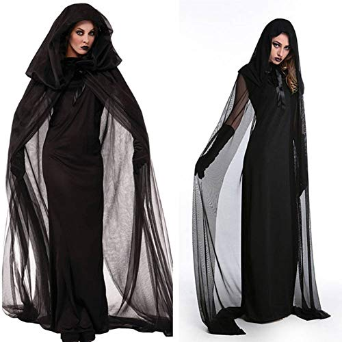 GUAN Halloween Kostüm Vampir Braut Uniform Hexe Engel Kostüm Party Game Uniform Kostüm