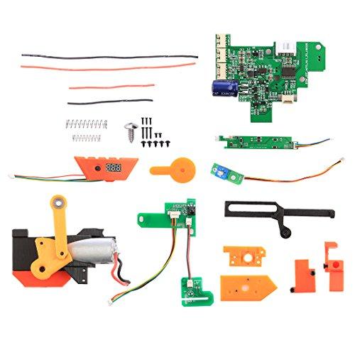 Preisvergleich Produktbild Lommer Full Auto Schießen Mod Kit,  Single,  Triple,  Continuous 3 Auto Schießen Modus Vollautomatisch Tuning kit für Nerf Stryfe (Hohe Version)