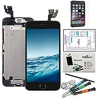"""trop saint Ecran Complet pour iPhone 6 (4,7)"""" LCD Noir - Kit de Réparation avec Film Protecteur"""