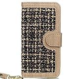Best LA GO GO iPhone 4 casos - Easy Go Shopping Tejido de Cuero de la Review