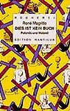 Dies ist kein Buch - René Magritte
