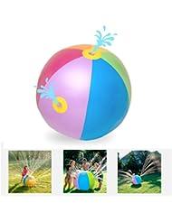 BBLIKE Ballon d'eau de Plage Gonflable de Jouet pour Enfants Pour Le Plaisir d'été en Plein Air, la Plage, les Barbecues et les Piscines
