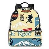 Zaino Uomo Donna, Sport Alpinista Casual Zaino Scuola Unisex Zaino Università Zaini Viaggio Daypack per Laptop 15,6 Pollici