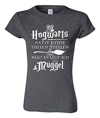 Outfitfaktur Also Pflege Ich Muggel - Damen T-Shirt - Krankenschwester Krankenpfleger und Altenpfleger T-Shirt (S)