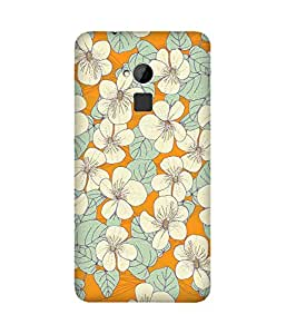 White Flowers Htc One Max Case