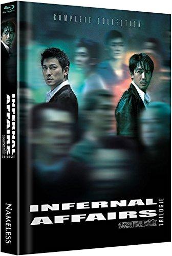 Bild von Infernal Affairs 1-3 - Trilogie - Mediabook [Blu-ray] [Limited Edition]