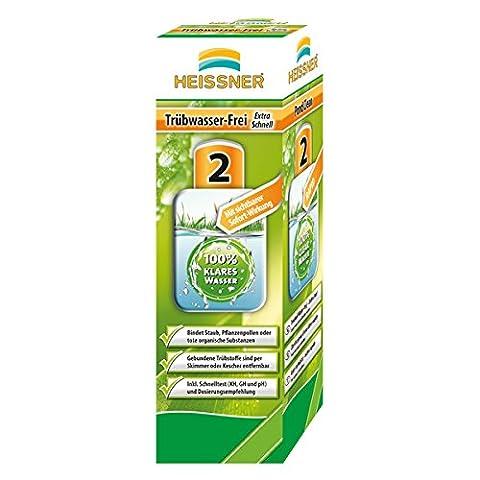 HEISSNER TZ739-00 Trübwasser-frei - extra schnell 1000ml für 20000 L