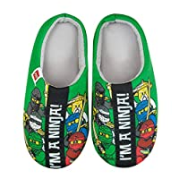 Official Lego Ninjago Im A Ninja Boys Slippers (28-29) Green