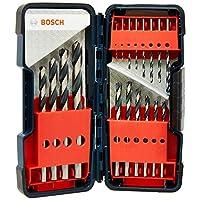Bosch HSS PoinTeQ Delme Uç 18 Parça Metal ToughBox