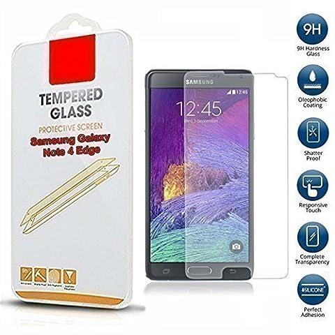 Gadget Boxx - SAMSUNG GALAXY NOTE 4 EDGE Protection écran, transparent, aspect verre trempé