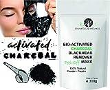 Mascarilla Exfoliante peel-off Carbón activo anti puntos negros 300g...