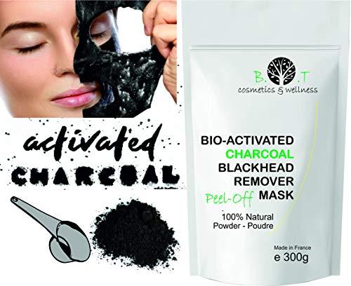 Mascarilla Exfoliante peel-off Carbón activo anti
