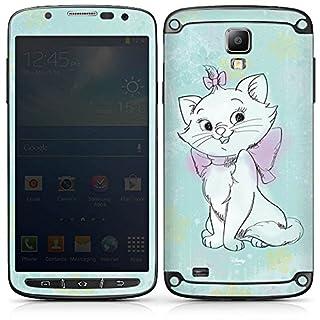 DeinDesign Samsung Galaxy S4 Active Folie Skin Sticker aus Vinyl-Folie Aufkleber Disney Aristocats Marie Merchandising Pour Supporters