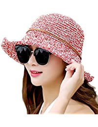 Sombrero para El Sol para Mujer Elegante Protección Solar para Basic El  Verano 0a962fcb08f