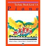 Alfred's Basic Piano Course Technic, Bk 1a (Alfred's Basic Piano Library)