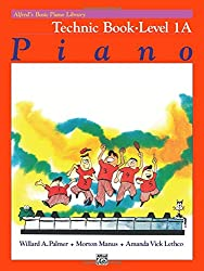 Alfred's Basic Piano Technic Book Lvl 1A --- Piano - Palmer, Manus & Lethco --- Alfred Publishing