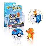 Colfeel Pokemon Poke Ball, Pokemon Action Figure, Pokeball Bambini per Feste (Charmander)