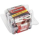ANSMANN Red Alkaline Batterie Micro AAA LR03 Longlife Alkalibatterie (20er Box) Vorratsbox Sparpaket
