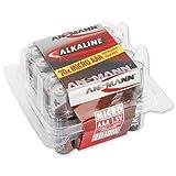ANSMANN Red Alkaline Batterie Micro AAA LR03 Longlife...