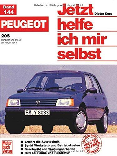 Peugeot 205 (B+D, ab 83) (Jetzt helfe ich mir selbst)