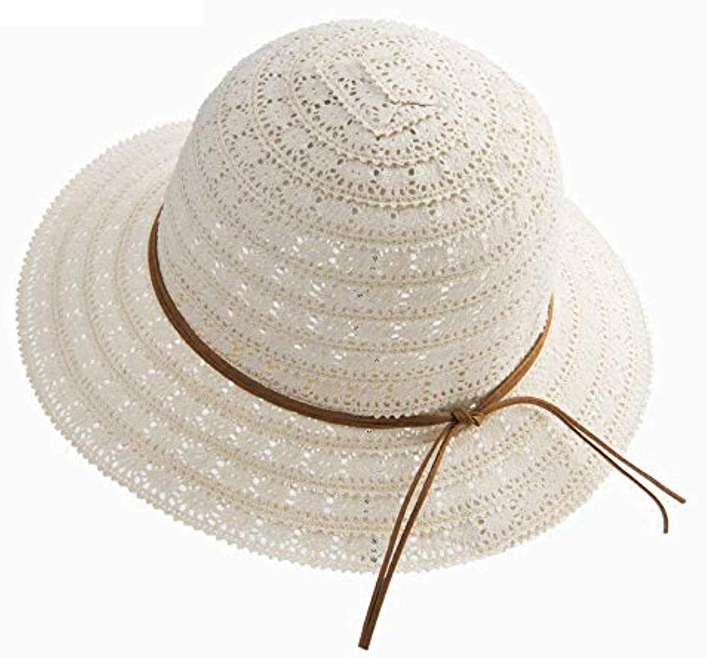 Yingsssq Cappellino da da Sole da Cappellino Spiaggia a Tesa Larga  Pieghevole con Cappuccio da Donna 70aae21fee30