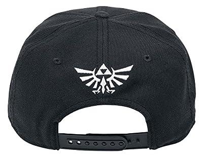Zelda Logo Casquette Snapback noir