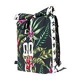 Tasche Schultasche Canvas Schulrucksack Vintage Bag Backpack Tropical 00 Stars [049]