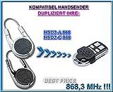 Hörmann HSD2 868 kompatibel handsender, klone fernbedienung, 4-kanal 868.3Mhz fixed code. Top Qualität Kopiergerät!!! (Nicht kompatibel mit BS BiSecur fernbedienungen)