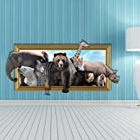 XXTT-Creativo 3D stereo muro stickers murale carta da parati sullo