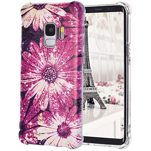 Für Samsung Galaxy S9 TPU-Hülle, Gemalter Druckstil Anti-Rutsch Stoßfest Drop Resistance Dünn Transparente Silikon-Stoßfänger- Fälle Für Samsung Galaxy S9, Stil 3 - 3-stil-fall
