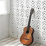 Fischgrätenmuster dekorative Wandschablone - Schablonen für wände - Maler Schablonen