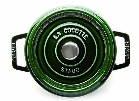 Staub 6-1/4-Quart Round Cocotte, Basil by Staub