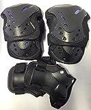 6 er Set Inliner Skater Protektoren Schützer Knie Ellenbogen Handflächen Schutz Kinder Erwachsene Rollschuhe S / M / L / XL