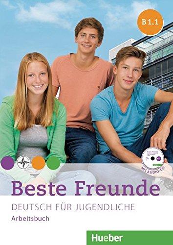 Beste Freunde B1/1: Deutsch für Jugendliche.Deutsch als Fremdsprache / Arbeitsbuch mit Audio-CD