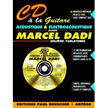 Partition : CD a la guitare acoustique M. Dadi