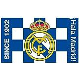 #3: Real Madrid C.F. Flag BW